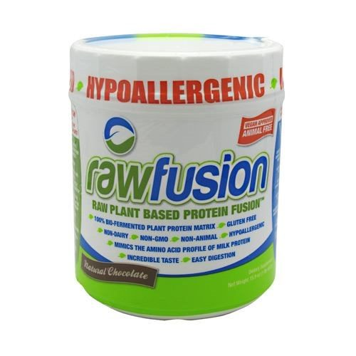RAW FUSION NATURAL Chocolate 15 serving by SAN Supplements