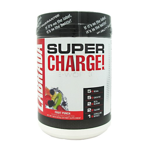Super Charge Fruit Punch 1.49 by LABRADA NUTRITION