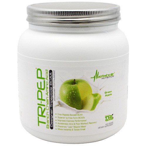 Tri-Pep Green Apple 40 Servings by Metabolic Nutrition