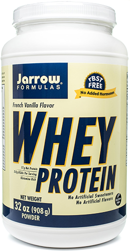 Whey Protein French Vanilla 32 oz, powder by Jarrow Formulas
