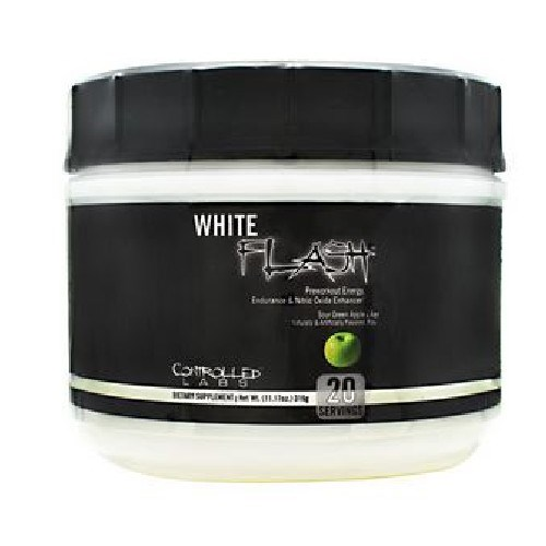 White Flash Sour Apple 20 Servings by Controlled Labs
