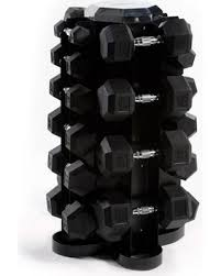 1390919 Hex Dumbbell Set, 5-50 lbs