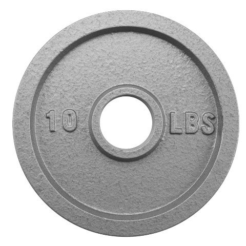 BrybellyHoldings SWGT-503 10 lbs. Olympic Style Iron Weight Plate