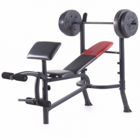 CB16830 Standard Bench Set Workout Lifting Press