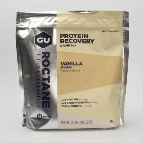 GU Roctane Protein Recovery Drink Mix (15 Servings) Nutrition Vanilla Bean