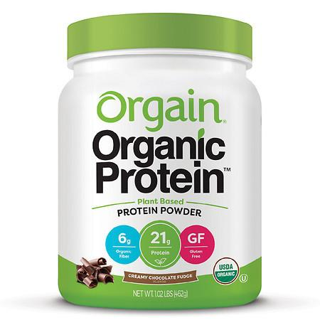 Orgain Organic Plant Based Protein Powder - 16.32 oz