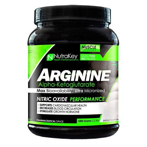 ARGININE AKG 1000 Grams by Nutrakey
