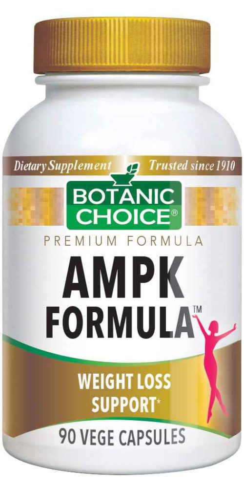 Botanic Choice AMPK Formula™ - Weight Loss Support Supplement - 90 Vegetarian Capsules