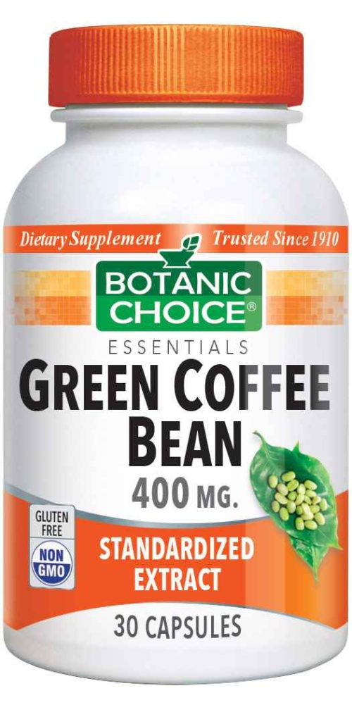 Botanic Choice Green Coffee Bean Extract 400 mg - 30 Capsules