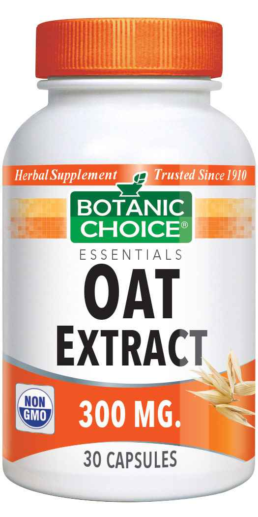 Botanic Choice Oat Extract 300 mg - Weight Loss Support Supplement - 30 Capsules