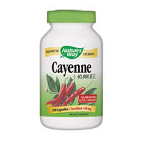 Cayenne Pepper 180 Caps by Nature's Way