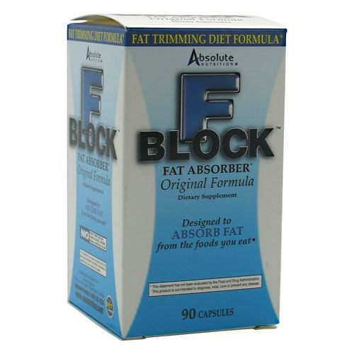 Fblock With Chitosan 90 CP EA by Absolute Nutrition