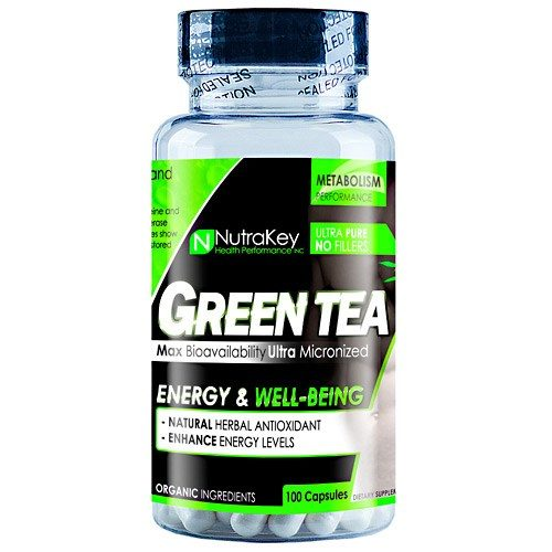 GREEN TEA EXTRACT 100 vcaps by Nutrakey