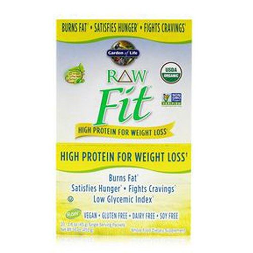 Gol - Raw Fit Protein 10 Packets by Garden of Life