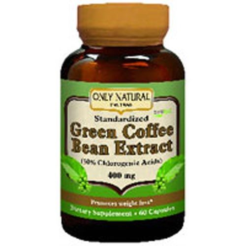 Green Coffee Bean Extract With Svetol 60 CAPS by Only Natural