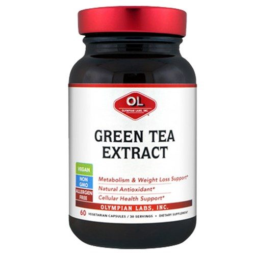 Green Tea Extract 60 caps by Olympian Labs