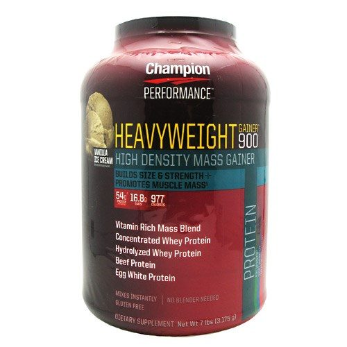 Heavyweight Gainer 900 7 Lbs by Champion Nutrition