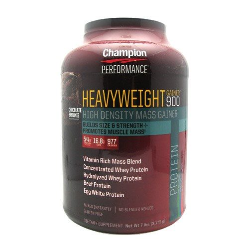 Heavyweight Gainer 900 Chocolate 7 Lbs by Champion Nutrition