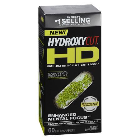 Hydroxycut HD Weight Loss - 60.0 ea