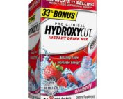 Hydroxycut Pro Clinical Weight Loss Dietary Supplement Powder Wildberry - 0.08 oz x 21 pack