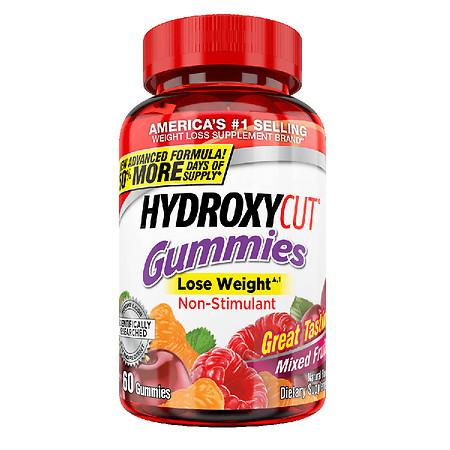 Hydroxycut Pro Clinical Weight Loss Gummies Mixed Fruit - 60.0 ea