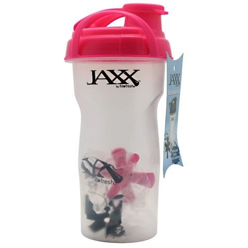 Jaxx Shaker Bottle Pink 28 Oz by Fit & Fresh