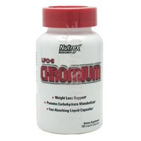 LIPO 6 Chromium 100 Liquid caps by Nutrex Research