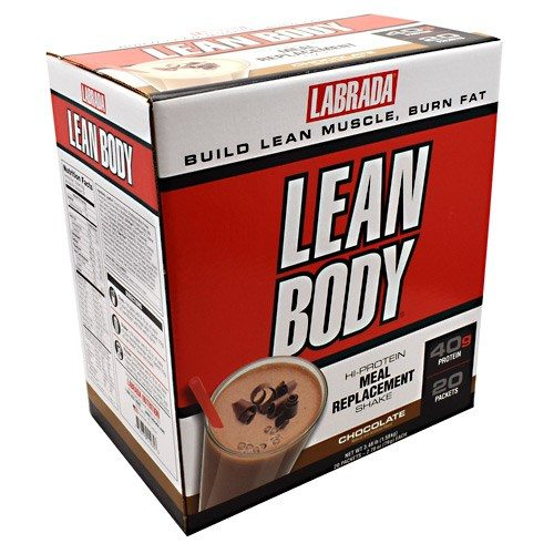 Lab Lean Body Cho Powder 20 CT by LABRADA NUTRITION