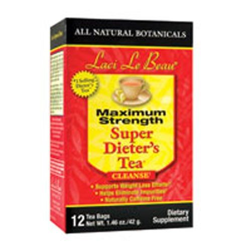 Laci Le Beau SDT Max Strength All Natural Botanicals 12 Bags by Natrol