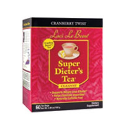 Laci Le Beau Super Dieters Tea Cranberry Twist 60 Bags by Natrol