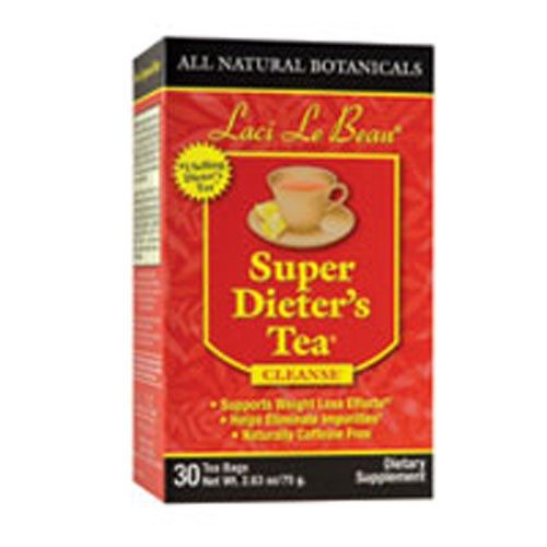 Laci Le Beau Super Dieters Tea Original Herb 30 Bags by Natrol