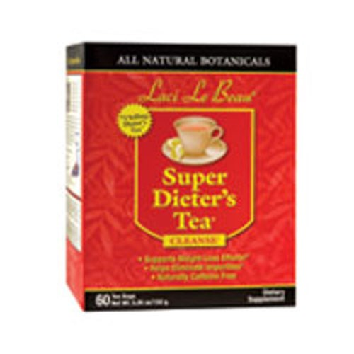 Laci Le Beau Super Dieters Tea Original Herb 60 Bags by Natrol