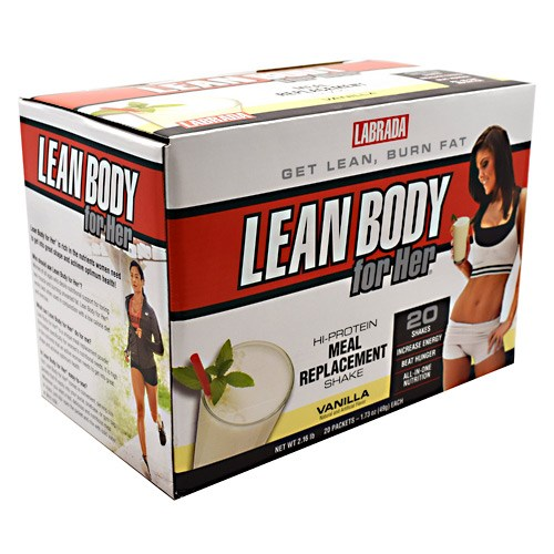 Lean Body For Her Vanilla 20 CT by LABRADA NUTRITION