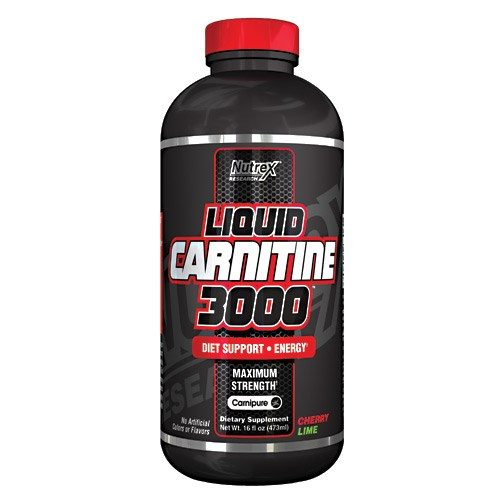 Liquid L-Carnatine 3000 Chery Lime 16oz by Nutrex Research