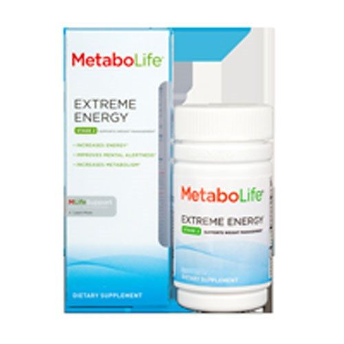 Metabolife Extreme Energy Stage 2 Weight Management Support 50 tabs by Twinlab