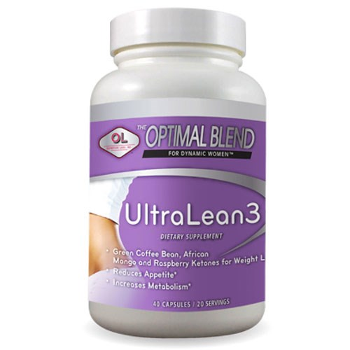 Optimal Blend Ultra Lean 3 40 caps by Olympian Labs