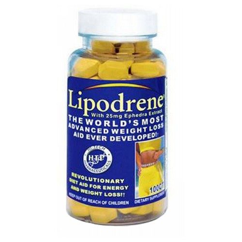 Original Lipodrene 100 Tabs by HI-TECH PHARMACEUTICALS