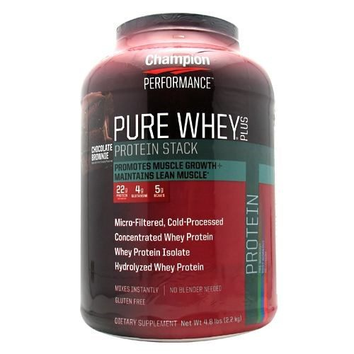 Pure Whey Protein Chocolate 5 Lbs by Champion Nutrition
