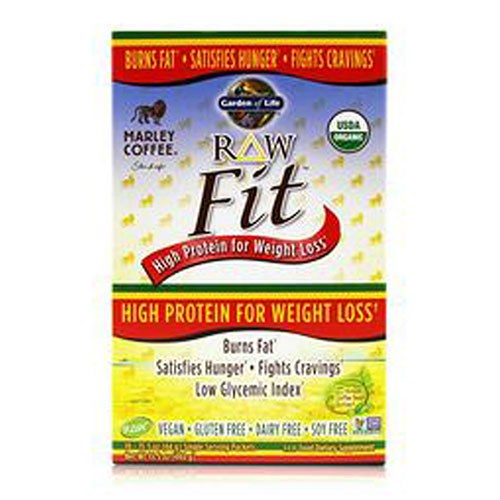 RAW Fit Protein Marley Coffee, 10 Ct by Garden of Life