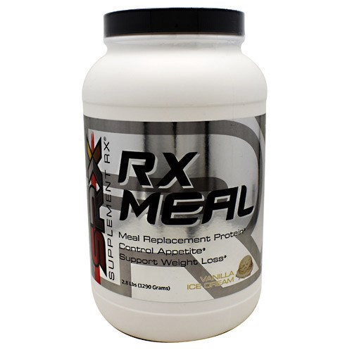 RX Meal Vanilla 2.8 lbs by Supplement RX