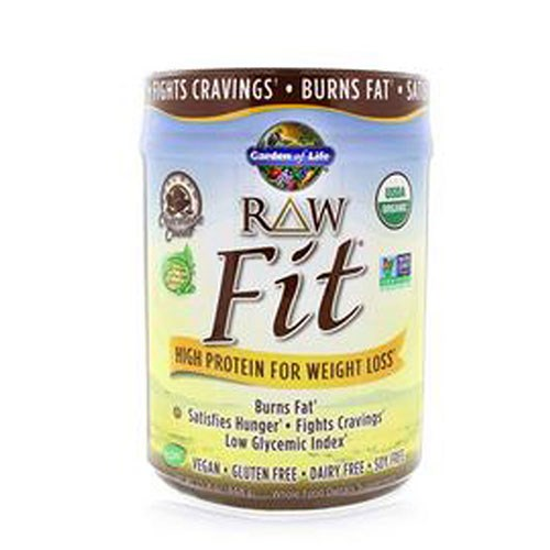 Raw Fit Chocolate Cacao 16 oz by Garden of Life