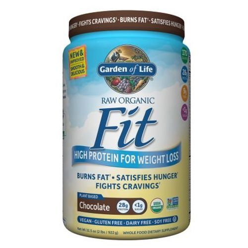 Raw Organic Fit Chocolate 32.5 Oz by Garden of Life