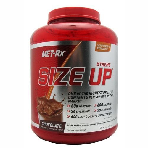 SIZE UP Chocolate 6LB by Met-Rx