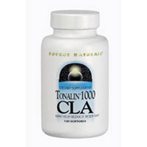 Tonalin 1000 CLA 120 Softgels by Source Naturals