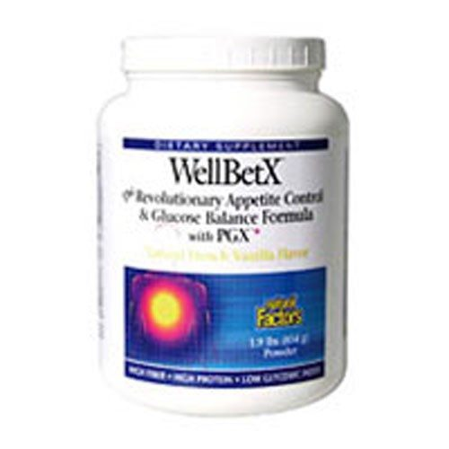WellBetX 1.9lb French Vanilla by Natural Factors