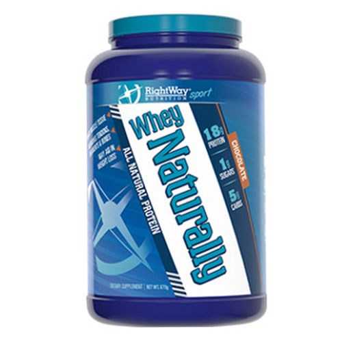 Whey Naturally Chocolate 680 Grms by Rightway Nutrition