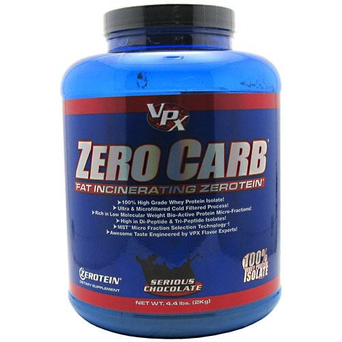 Zero Carb Chocolate 4.4 Lb by VPX Sports Nutrition
