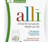 Alli Diet Weight Loss Supplement Pills, Orlistat 60mg Capsules Starter Pack 60 count - 60.0 count