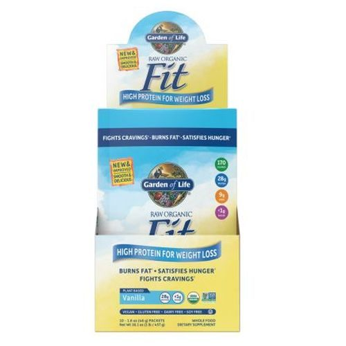 Raw Fit Vanilla 15 oz by Garden of Life